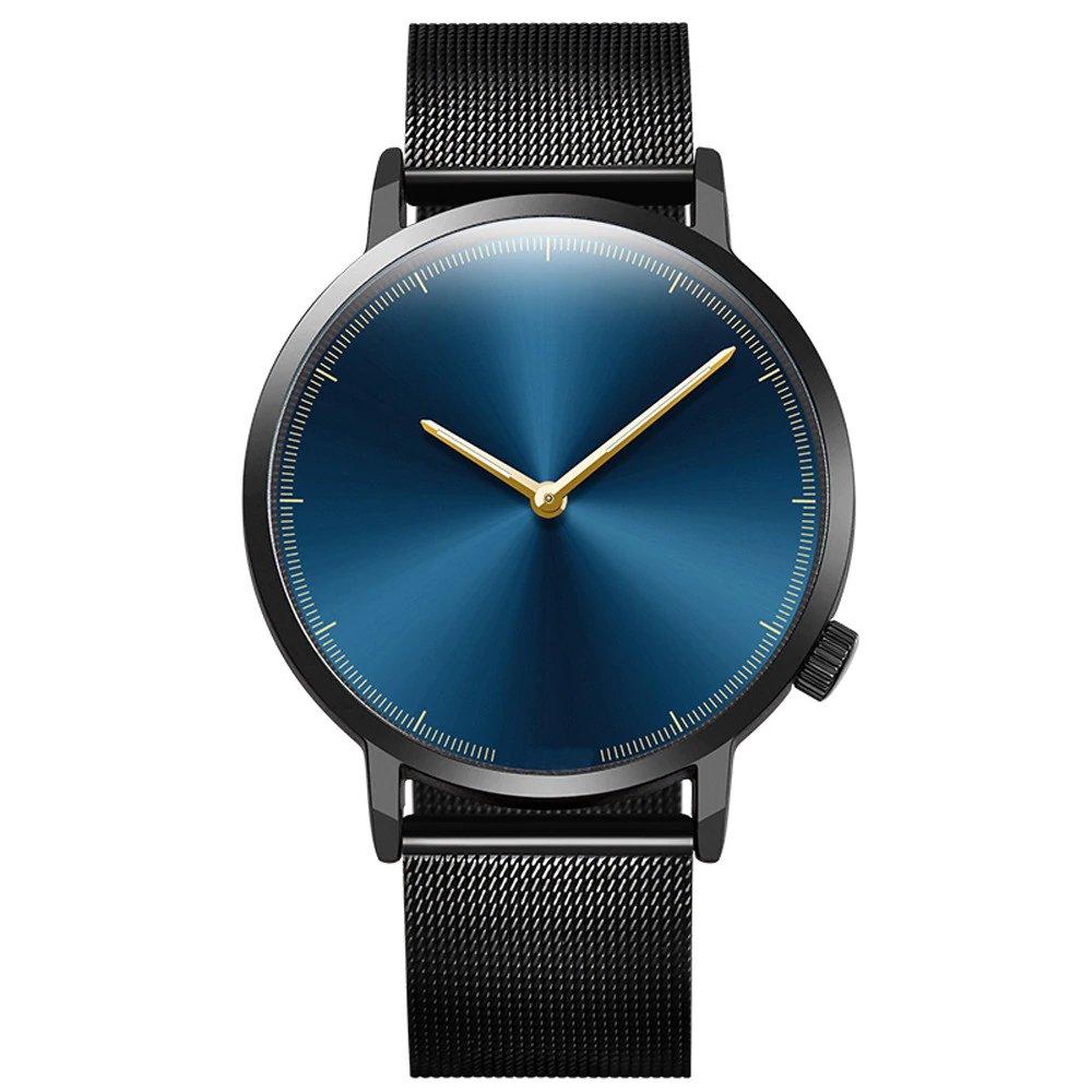 ab32b4a632fc Reloj Precisión Elegante de Cuarzo con Pulsera Army de Acero Inoxidable para  Hombre y Mujer – 24Joyas tienda de compra de relojes y joyas
