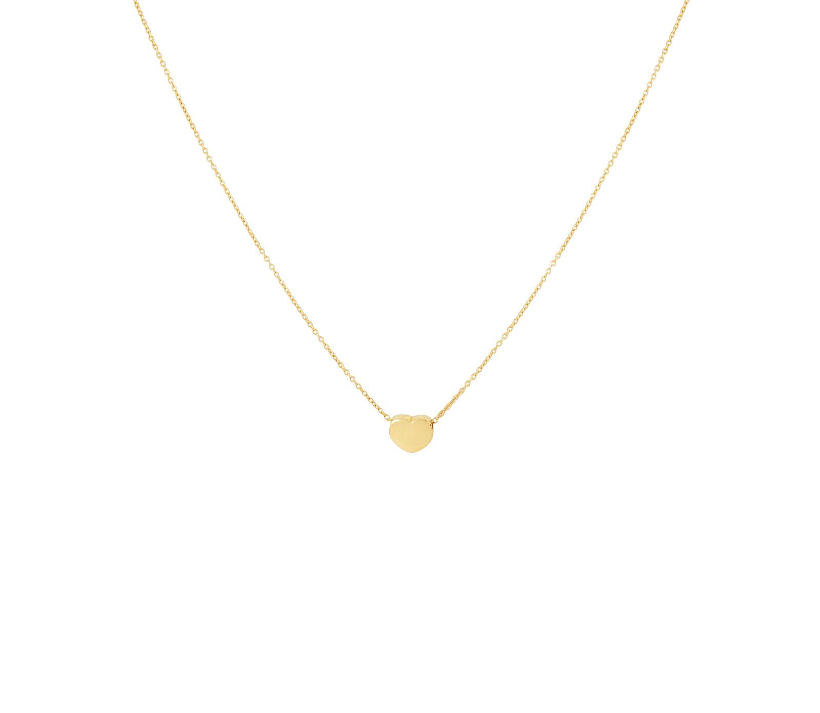 c7e96e4c2dbe Gargantilla Corazón color oro con cadena de 40+5 centímetros
