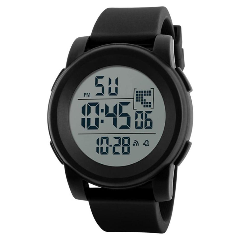 7ad44d4bd2f2 Reloj Deportivo Multifunción Digital Negro con esfera grande y visible –  24Joyas tienda de compra de relojes y joyas