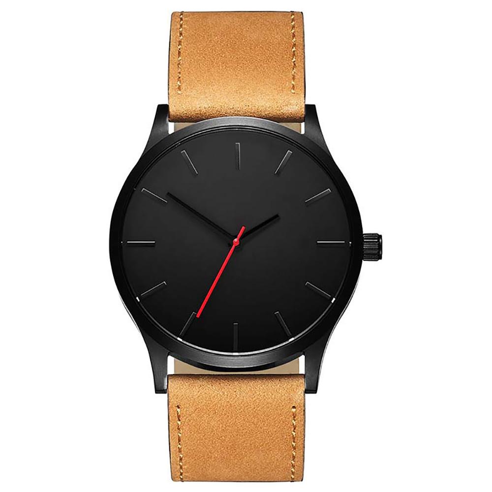 8402484784dd Reloj Elegante de Cuarzo con Correa de Cuero para Hombre – 24Joyas tienda  de compra de relojes y joyas