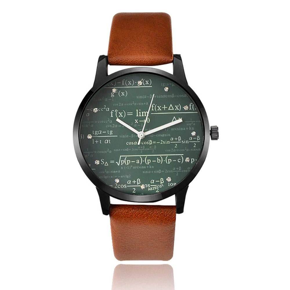 64a2abf52552 Reloj Fórmula de Cuarzo con Pulsera de Cuero para Hombre y Mujer – 24Joyas  tienda de compra de relojes y joyas