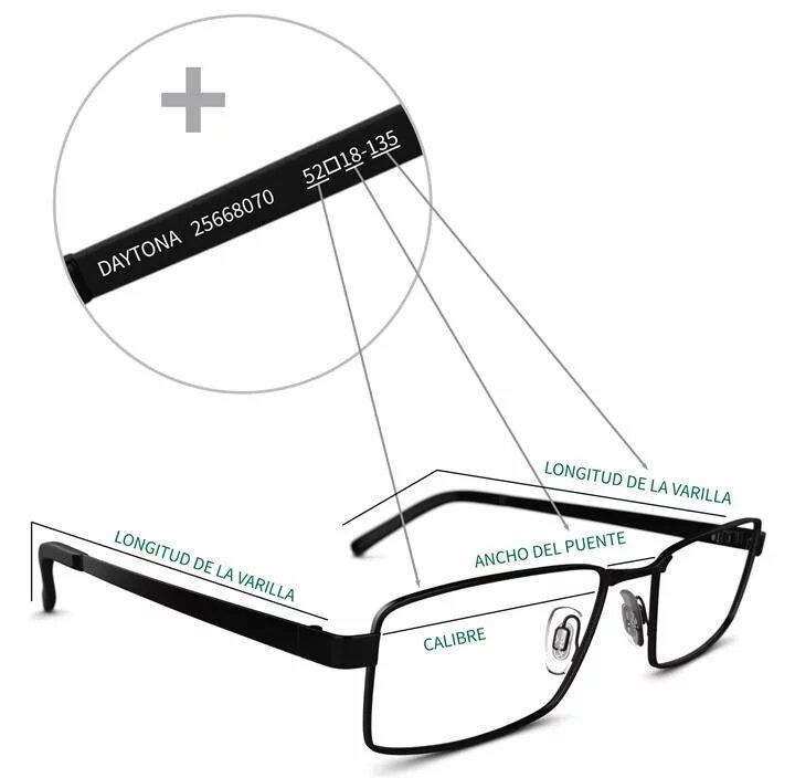 Talla de Gafas